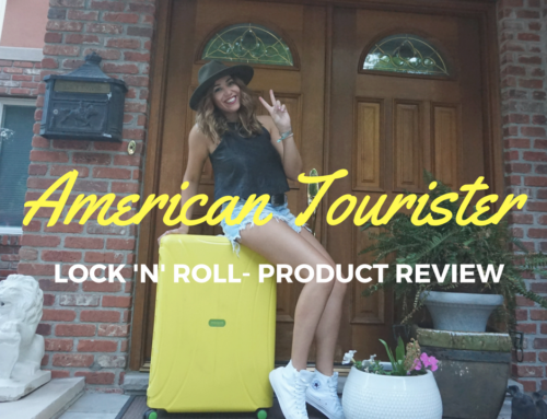 Product Review: American Tourister YELLOW-Lock 'N' Roll